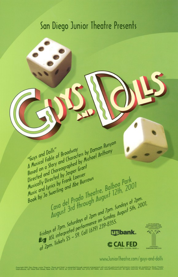 Guys and Dolls, 2001
