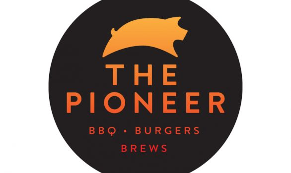 The Pioneer BBQ Logo Design