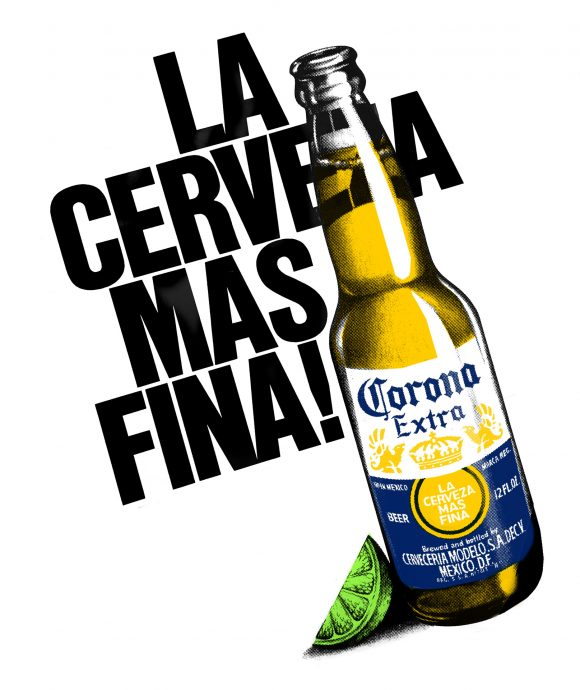 Illustration for Corona Beer
